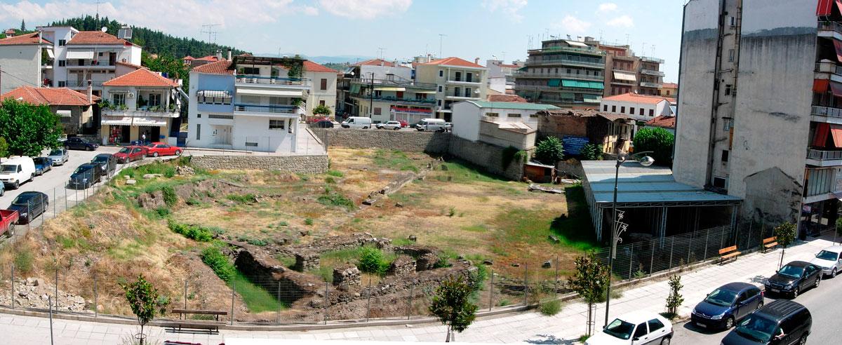 Εικ. 2. Γενική άποψη αρχαιολογικού χώρου αρχαίας Τρίκκης. Πηγή: αρχείο ΛΔ΄ ΕΠΚΑ.