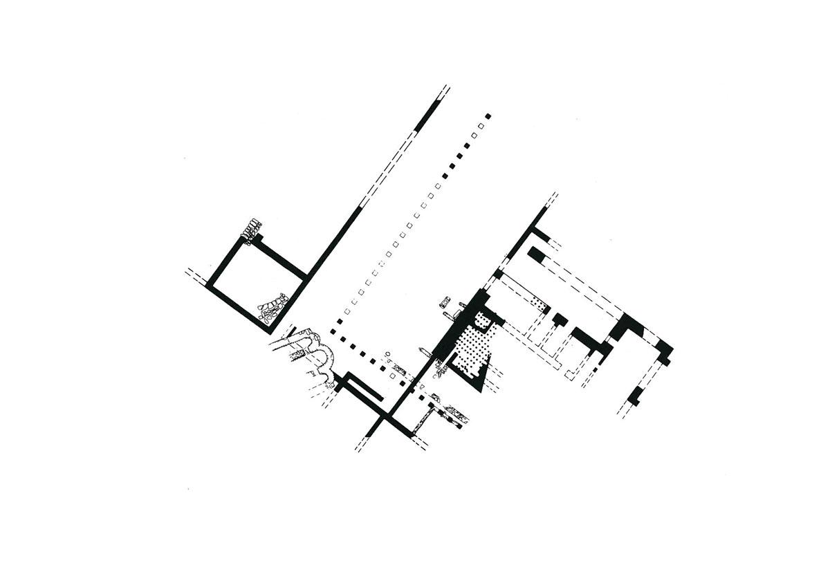 Εικ. 3. Κάτοψη αρχαιολογικού χώρου αρχαίας Τρίκκης. Πηγή: αρχείο ΛΔ΄ ΕΠΚΑ.