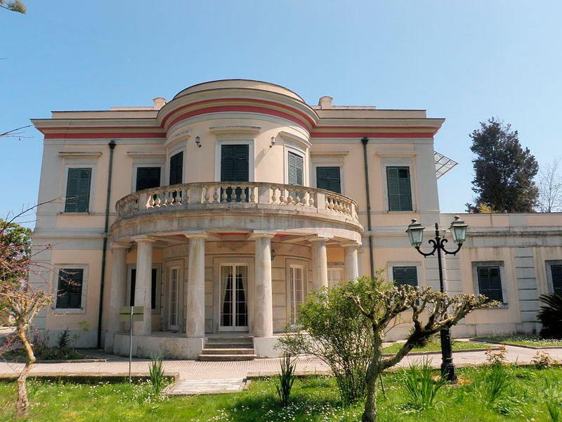 Το Αρχαιολογικό Μουσείο Παλαιόπολης, στην Κέρκυρα.