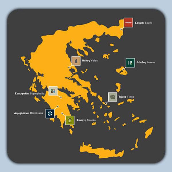 Το Δίκτυο Μουσείων του Πολιτιστικού Ιδρύματος Ομίλου Πειραιώς.
