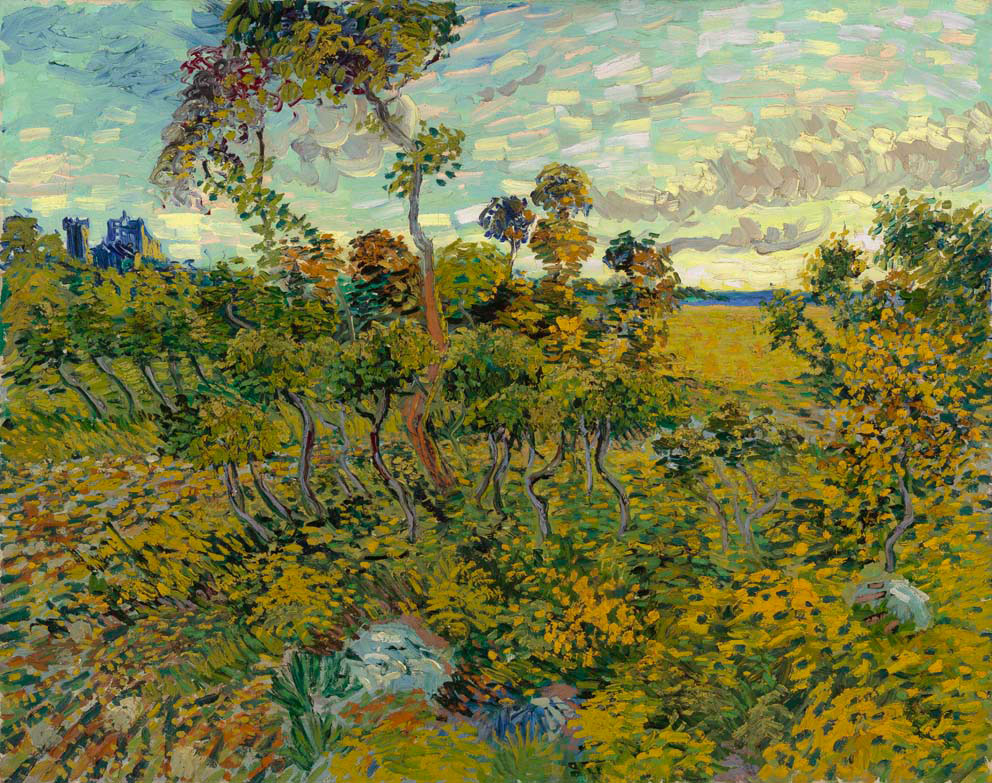 Βίνσεντ Βαν Γκογκ, «Δύση στη Μονμαζούρ», (1888). Ιδιωτική συλλογή.