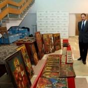 1.077 κλεμμένα έργα τέχνης κατασχέθηκαν σε επιχείρηση της αλβανικής αστυνομίας
