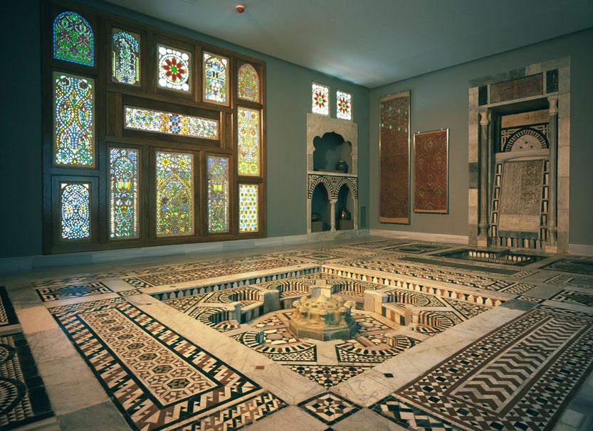 Άποψη αίθουσας του Μουσείου Ισλαμικής Τέχνης - Μουσείου Μπενάκη.
