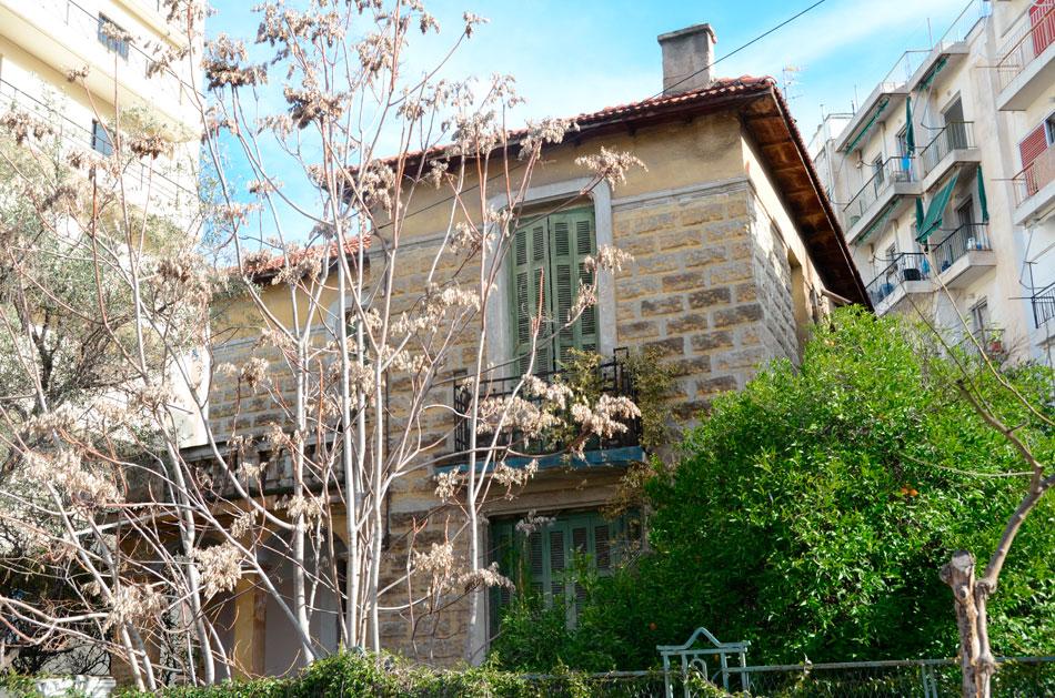 Χαρακτηριστική κατοικία τύπου Κυπριάδη, στον ομώνυμο συνοικισμό (φωτ. Monumenta).