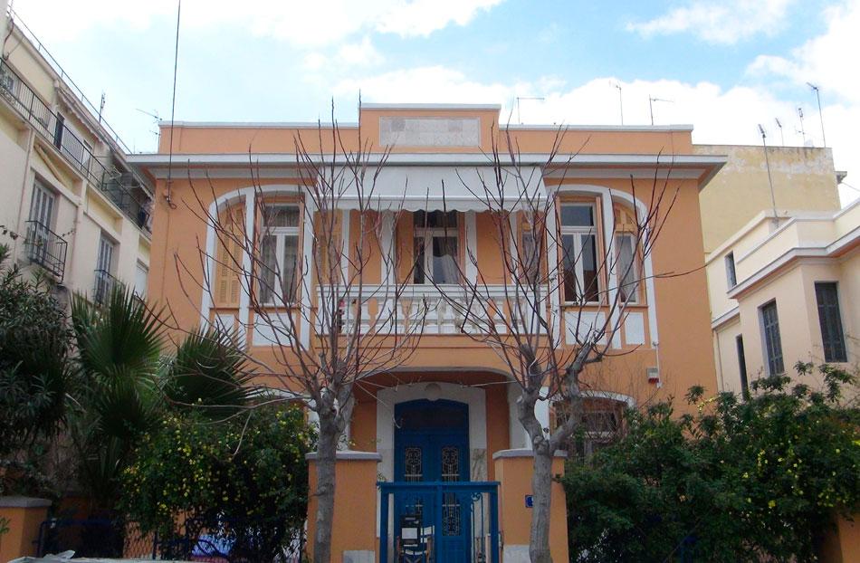 Οικία επί της οδού Ι. Πολέμη της δεκαετίας του 1930 στο συνοικισμό Κυπριάδη (φωτ. Monumenta).