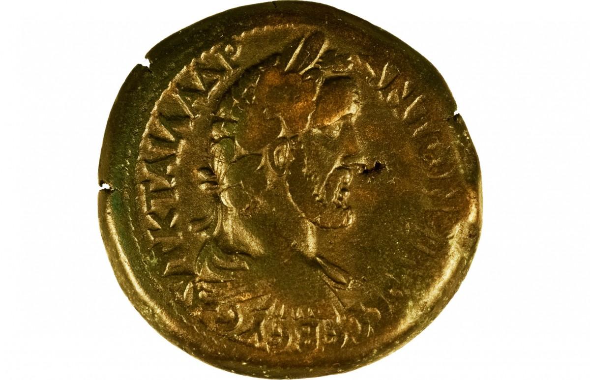 Χαλκό νόμισμα Αλεξάνδρειας επί Αντωνίνου Ευσεβούς, 138-161 μ.X.