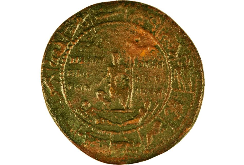 Ζωδιακός κύκλος. Χαλκό νόμισμα Περίνθου επί Αλεξ. Σεβήρου, 222-235 μ.Χ.
