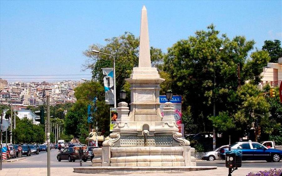 Το Κεντρικό Συμβούλιο Νεωτέρων Μνημείων γνωμοδότησε υπέρ του χαρακτηρισμού του σιντριβανιού ως μνημείου, διότι πρόκειται για αξιόλογο δείγμα αστικού εξοπλισμού της Θεσσαλονίκης του τέλους του 19ου αιώνα.