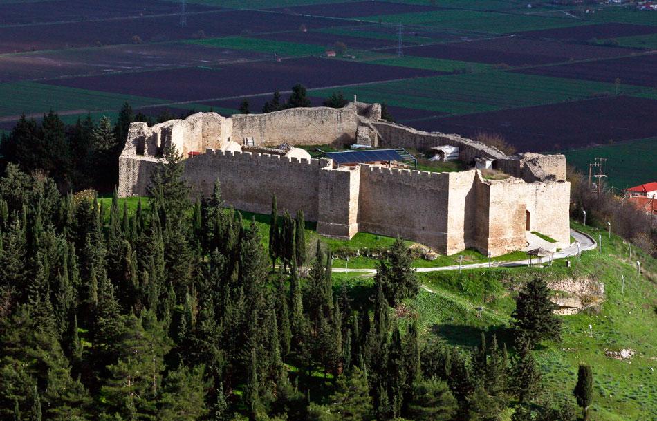 Άποψη του βυζαντινού Κάστρου Φαναρίου (φωτ. ΑΠΕ-ΜΠΕ).