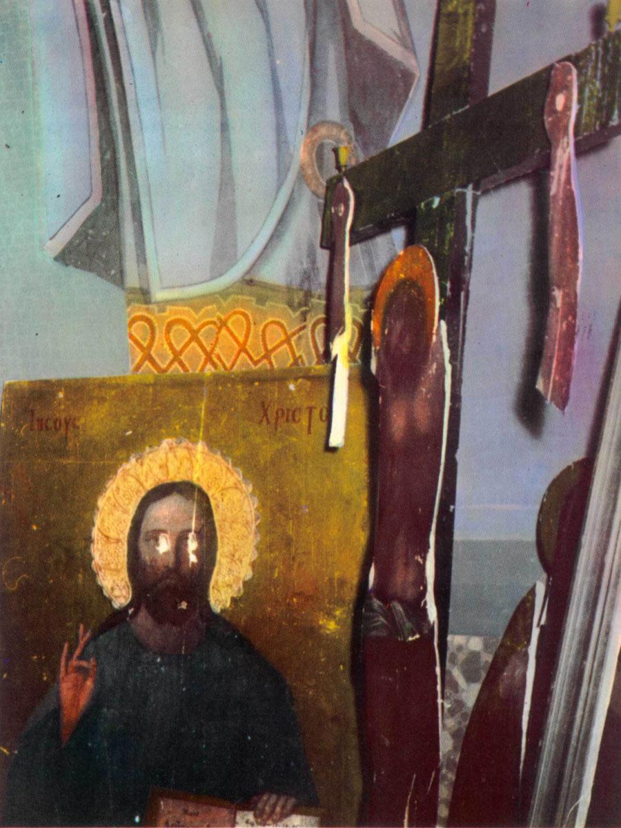 Εικ. 5. Φωτογραφία από το λεύκωμα του Δ. Καλούμενου «Η Σταύρωση του Χριστιανισμού».
