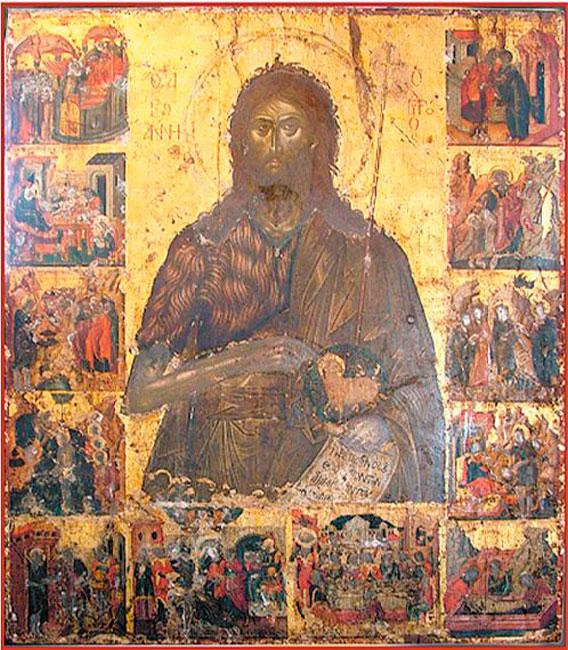 Εικ. 2. Εμμανουήλ Τζάνες, «Άγιος Ιωάννης ο Πρόδρομος». Μητροπολιτικός ναός του Αγίου Ιωάννη του Προδρόμου, Κρανίδι Αργολίδας.