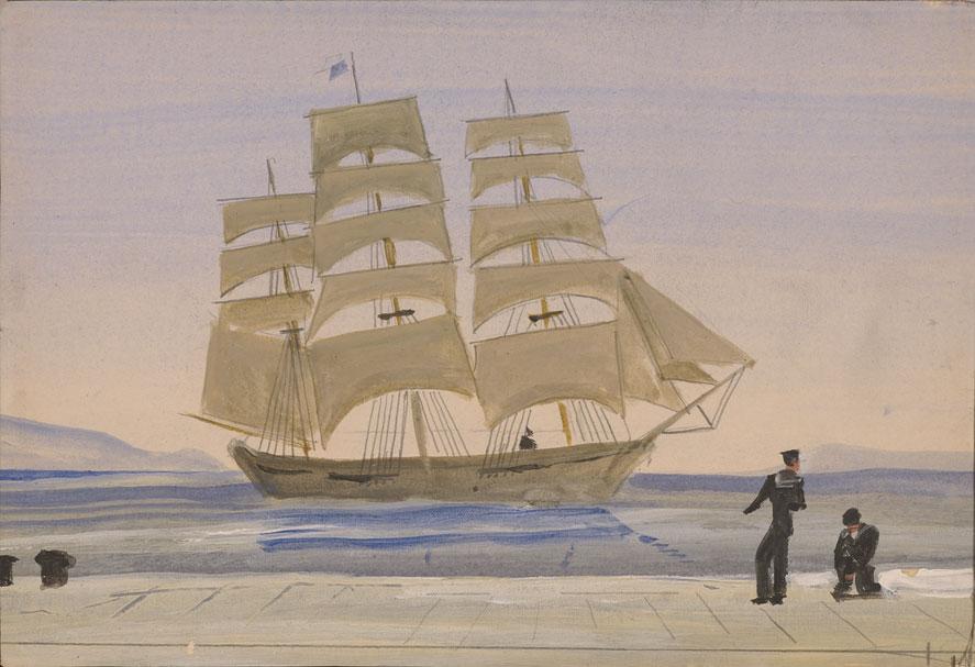"""""""Καράβι και ναύτες"""", Ίδρυμα Άγγελου και Λητώς Κατακουζηνού"""