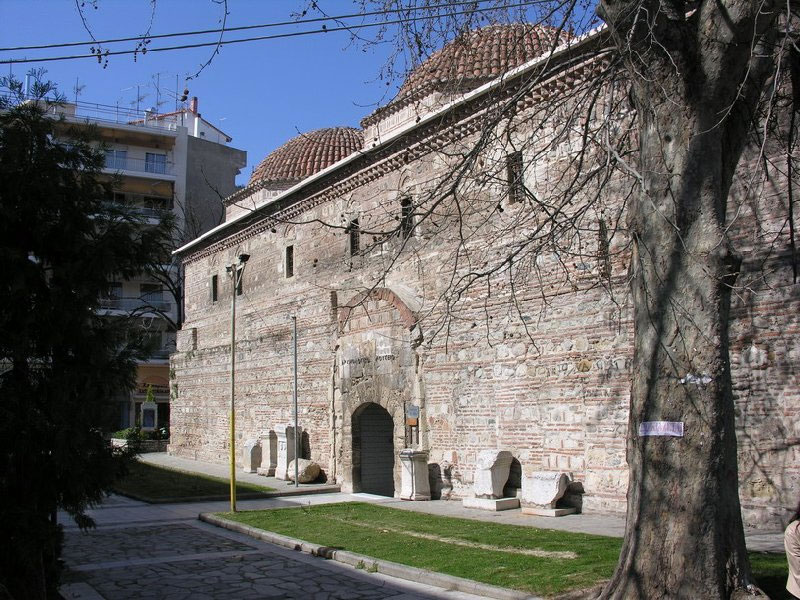 Το Μπεζεστένι Σερρών, σήμερα στεγάζει το Αρχαιολογικό Μουσείο της πόλης.