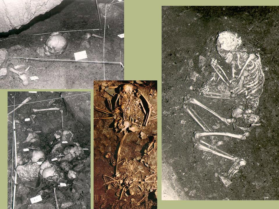 Εικ. 23. Σπήλαιο Αλεπότρυπα. Ταφές και οστεοφυλάκια.