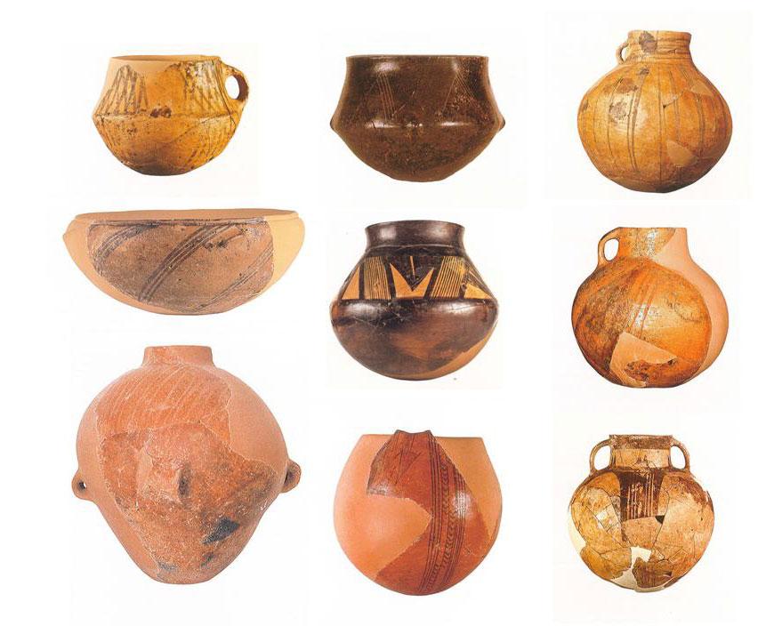 Εικ. 24. Σπήλαιο Αλεπότρυπα. Νεολιθική κεραμική.