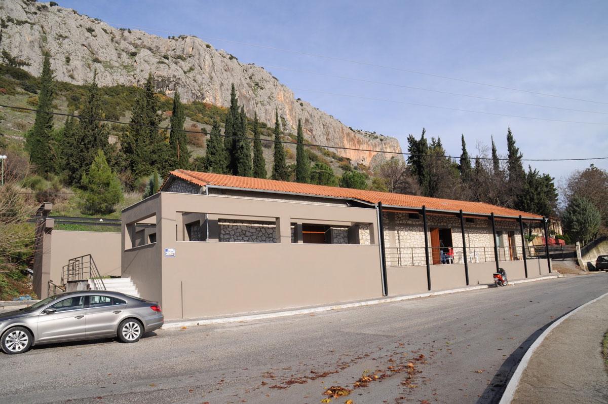 Εικ. 30. Κέντρο Εκπαίδευσης και Τεκμηρίωσης Σπηλαίου Θεόπετρας. Κτήριο.
