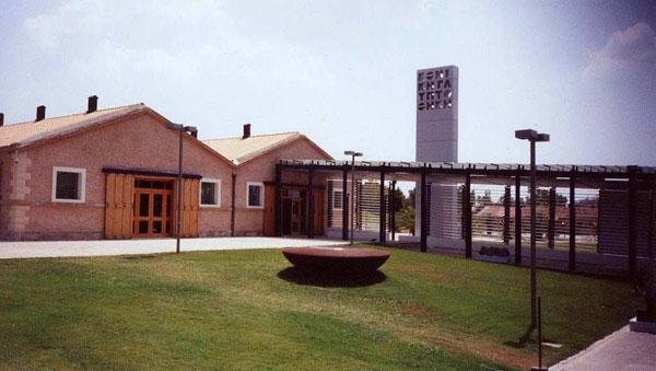 Η Εθνική Γλυπτοθήκη, στο Άλσος Στρατού.