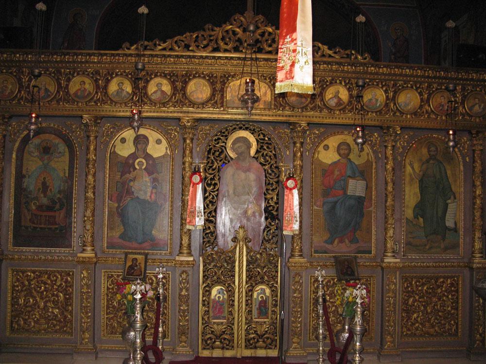Εικ. 6. Τέμπλο, ναός Κοίμησης Θεοτόκου Βάρκιζας.