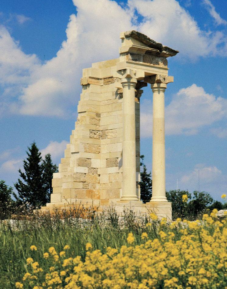Το Ιερό του Απόλλωνα Υλάτη (φωτ. ΑΠΕ-ΜΠΕ).