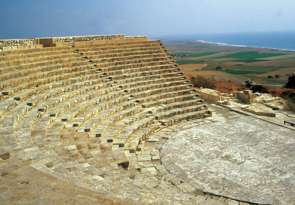 Το αρχαίο θέατρο του Κουρίου (φωτ. ΑΠΕ-ΜΠΕ).