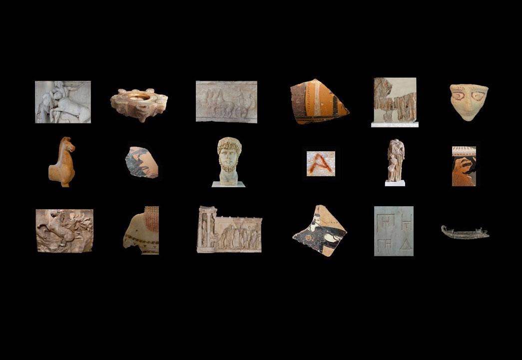 Εναλλασσόμενες θεματικές παρουσιάσεις στο Μουσείο Ακρόπολης.
