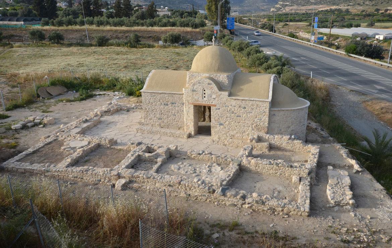 Ο ναός της Αγίας Μαρίνας Καντού στην Κύπρο (φωτ. Τμήμα Αρχαιοτήτων Κύπρου).