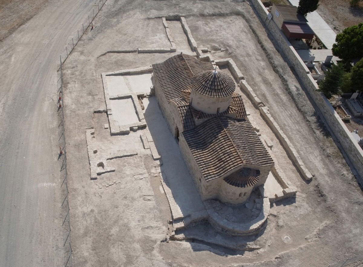 Ο ναός της Παναγίας Κοφίνου στην Κύπρο (φωτ. Τμήμα Αρχαιοτήτων Κύπρου).