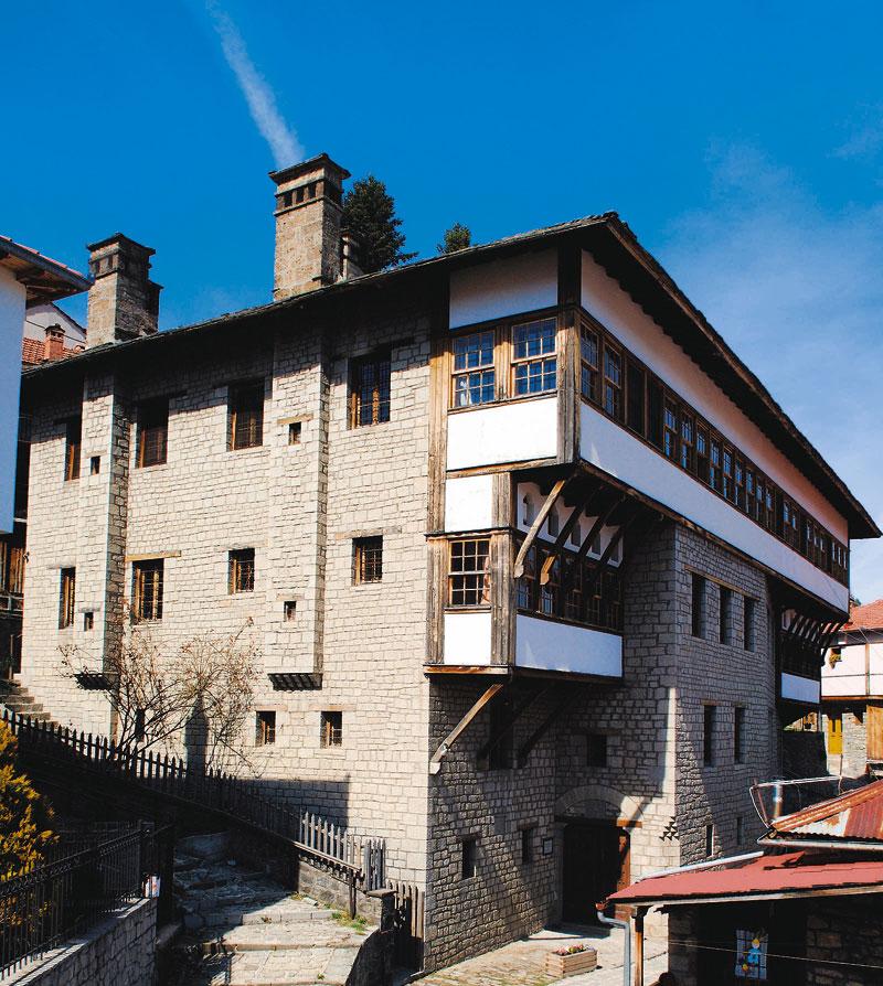 Το Λαογραφικό Μουσείο Μετσόβου (Αρχοντικό Τοσίτσα).