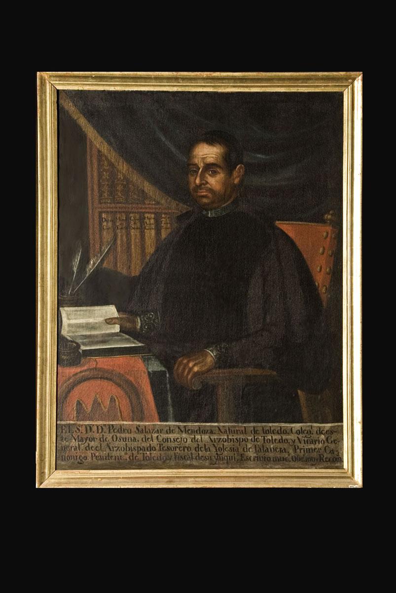 Άγνωστος καλλιτέχης, «Πορτρέτο του Pedro Salazar de Mendoza», 1785. Λάδι σε καμβά. Escuela Universitaria de Osuna.