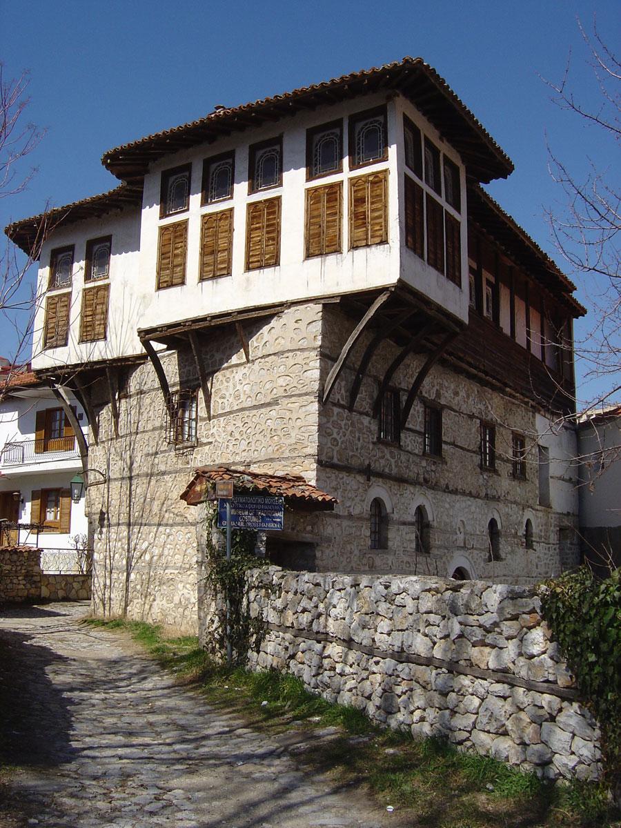 Το Αρχοντικό των αδελφών Εμμανουήλ στο Ντολτσό (φωτ. ΑΠΕ-ΜΠΕ / Δήμος Καστοριάς).