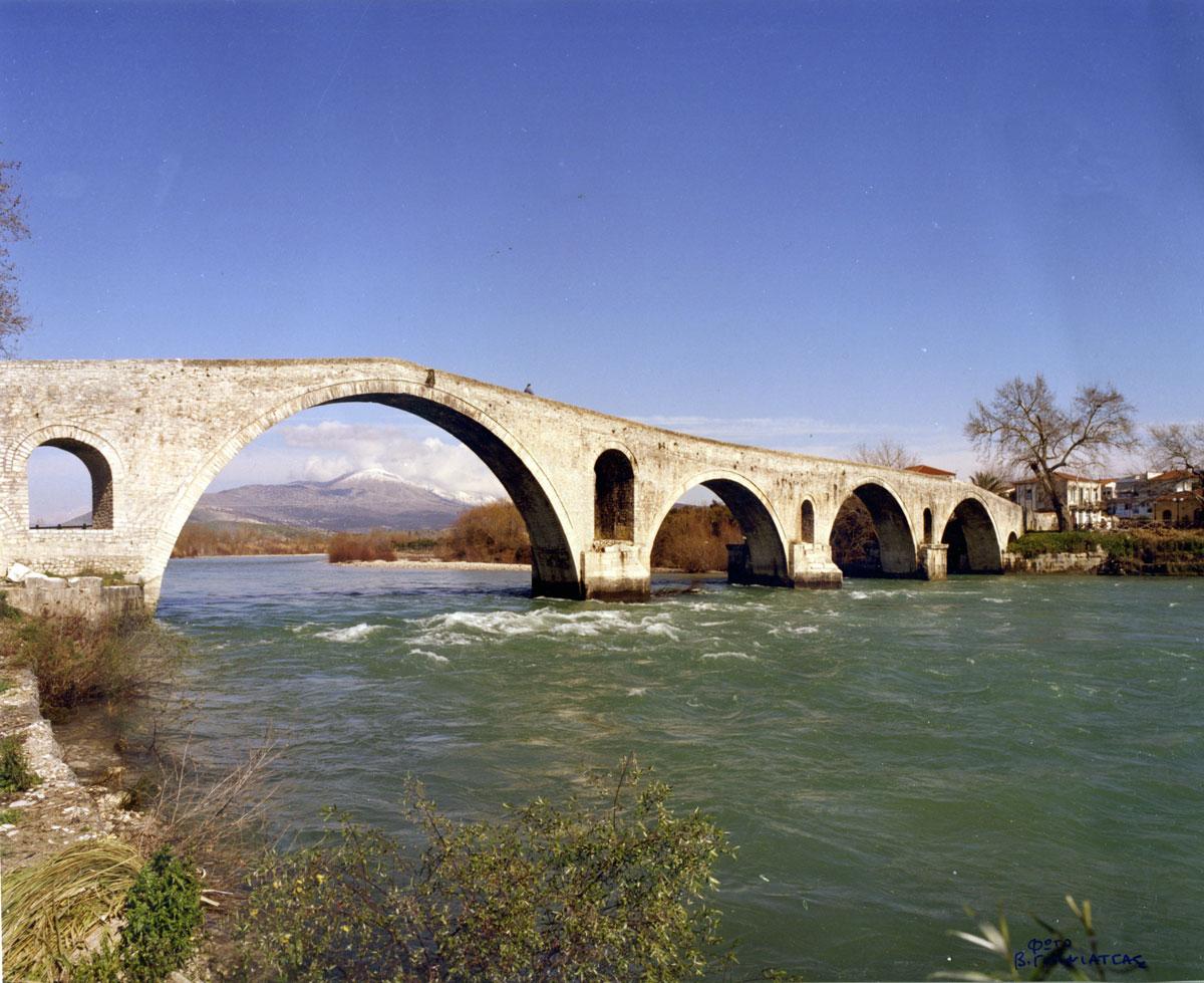 Εικ. 6. Το γεφύρι της Άρτας (2010).