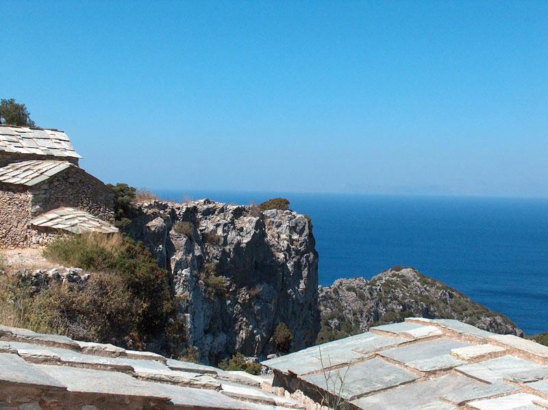 Εικ. 3. Η θέα από το Κάστρο του Μυλοποτάμου (φωτ. Kythera.gr).