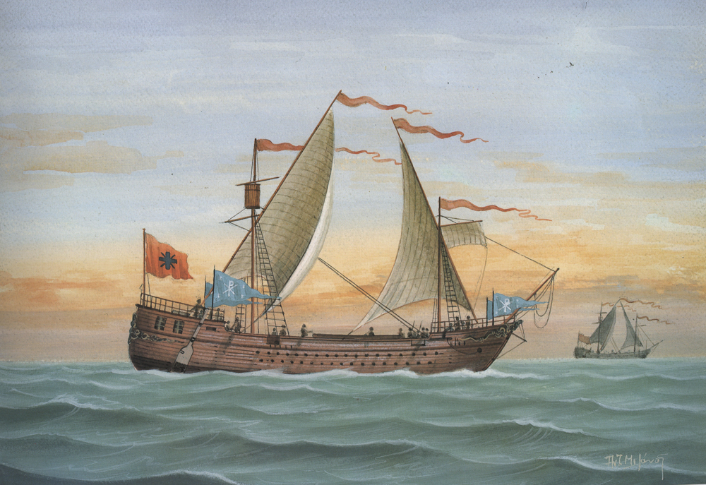 """""""Παμφυλίας"""", Ελληνικά πλοία του Μεσαίωνα"""