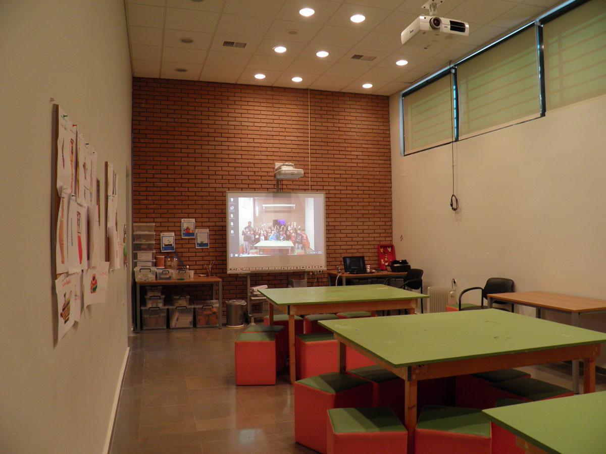Αίθουσα εκπαιδευτικών προγραμμάτων του Αρχαιολογικού Μουσείου Άρτας.