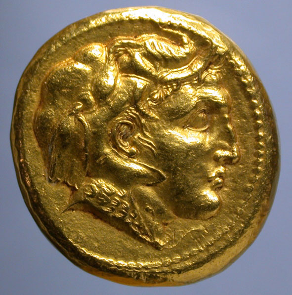 Το αναμνηστικό μετάλλιο που κόπηκε μετά τη Μάχη του Υδάσπη Ποταμού και την ήττα του Ινδού βασιλιά Πώρου από τον Μεγάλο Αλέξανδρο, σύμφωνα με τον δρα Osmund Bopearachchi (φωτ. ΑΠΕ-ΜΠΕ / Osmund Bopearachchi).