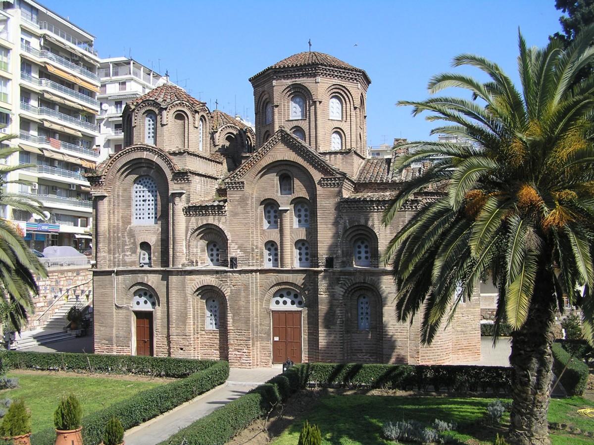 Εικ. 1. Ο ναός της Παναγίας των Χαλκέων στη Θεσσαλονίκη.