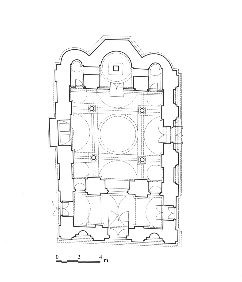 Εικ. 2. Κάτοψη του ναού.
