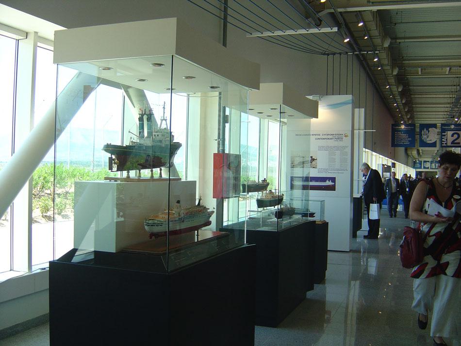 Εικ. 21. Έκθεση «Ελληνική Ναυτική Παράδοση 10.000 χρόνων», Metropolitan Expo (Ποσειδώνια 2012), 4-8 Ιουνίου 2012.