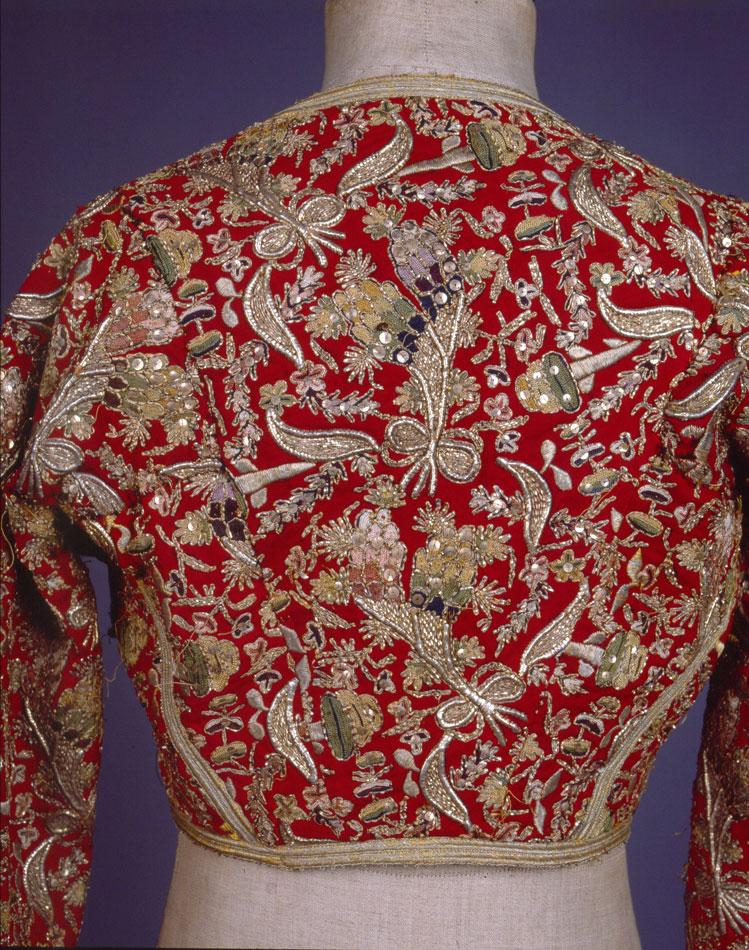 «Κοντογούνι» από  τούρκικο «αντερί» για τη φορεσιά «Αμαλία». Πελοπόννησος (;). Mέσα 19ου αιώνα.