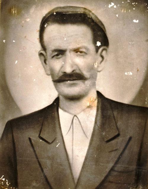 Ιωάννης Γκοζάνης από τα Βουρλά. Αρχείο οικογένειας Γκοζάνη. Αδελφότητα Μικρασιατών Ν. Χανίων «Ο Άγιος Πολύκαρπος».