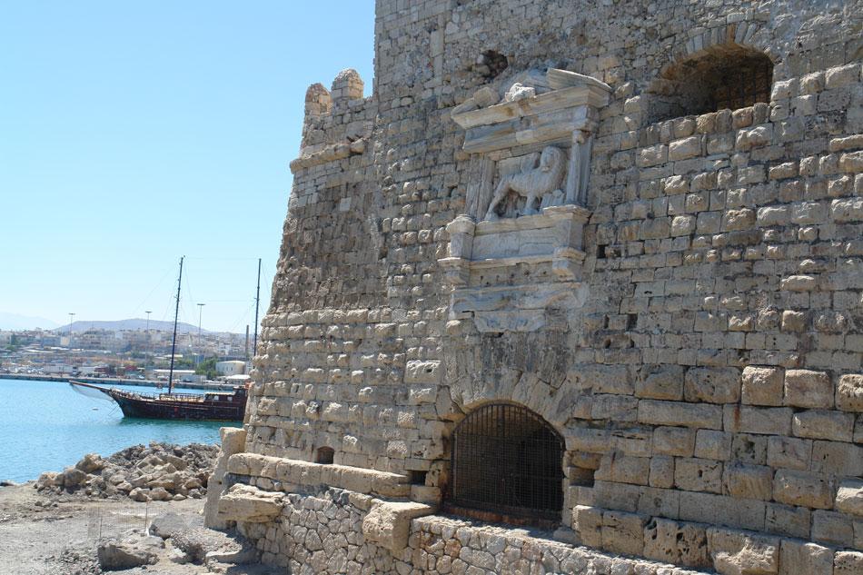 Χάνδακας. Η ανατολική πλευρά του φρουρίου της Θάλασσας (φωτ. Ν. Σκουτέλης).