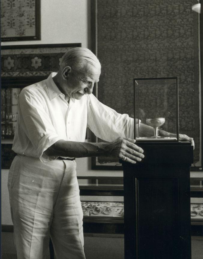 Ο Αντώνης Μπενάκης (φωτ.: Μουσείο Μπενάκη).