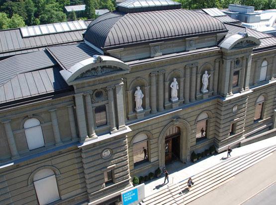 Το Μουσείο Καλών Τεχνών της Βέρνης.