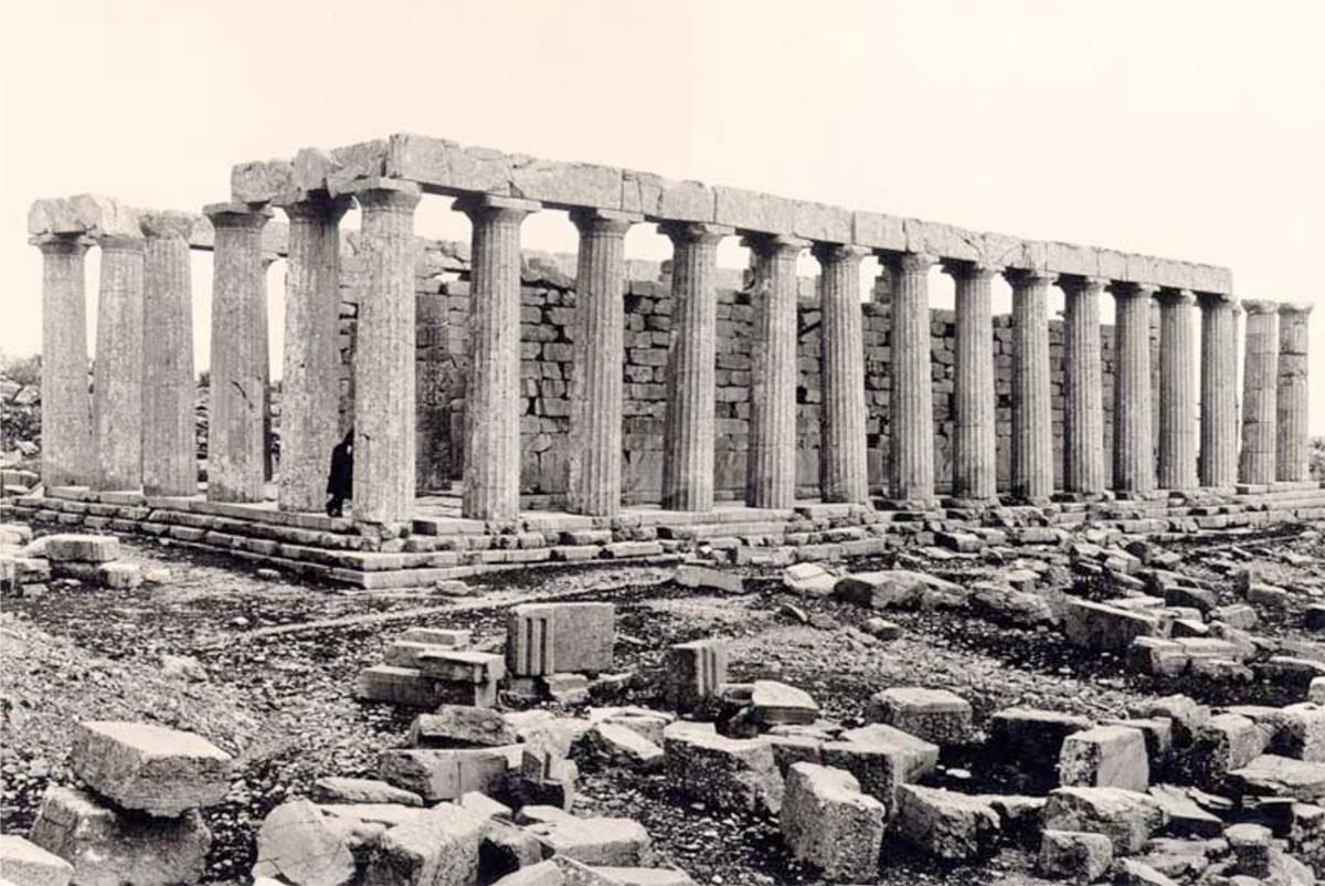 Ο ναός του Επικούριου Απόλλωνα.