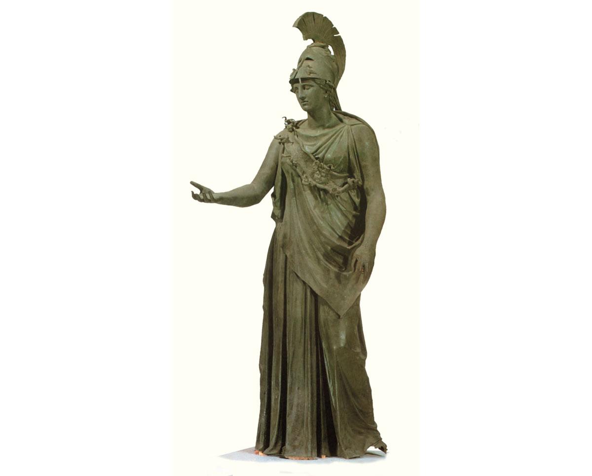Η Αθηνά. Αρχαιολογικό Μουσείο Πειραιά.