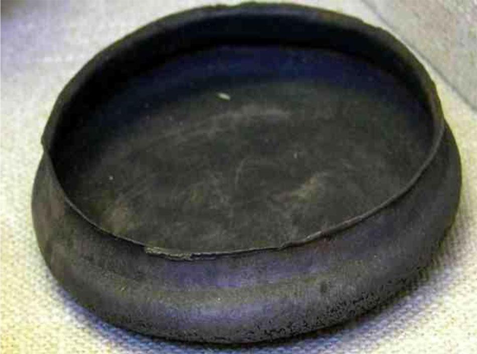 Αργυρή φιάλη που λέγεται ότι βρέθηκε στον Κάπρο της Αμοργού, Μουσείο Ashmolean AE158.