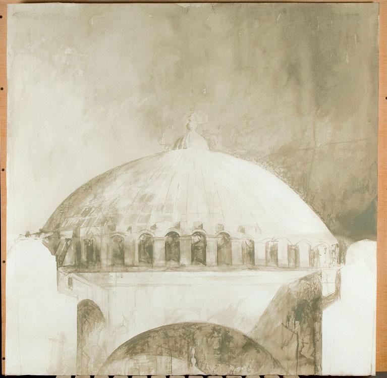 Yδατογραφίες και προσχέδια του Pedro Cano με θέματα εμπνευσμένα από το τοπίο, τη ζωή αλλά και τα αρχαία μνημεία της Μεσογείου παρουσιάζονται στο Αρχαιολογικό Μουσείο Θεσσαλονίκης.