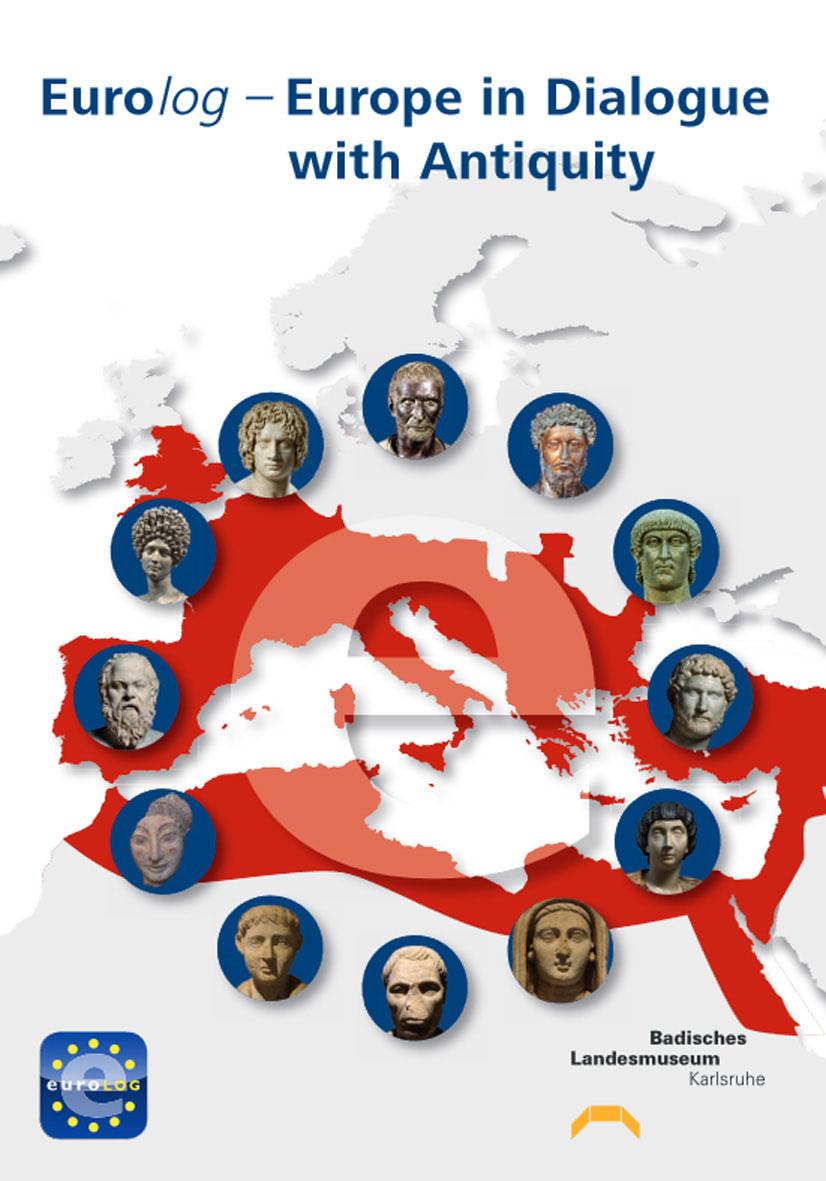 Η αφίσα της έκθεσης «Eurolog – H Ευρώπη σε διάλογο με την αρχαιότητα».