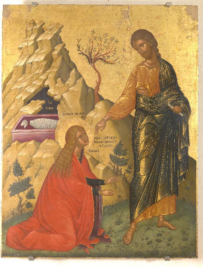 Εικ. 4. Μη μου άπτου, γύρω στο 1500 (φωτ.: Ελληνικό Ινστιτούτο Βυζαντινών και Μεταβυζαντινών Σπουδών Βενετίας).