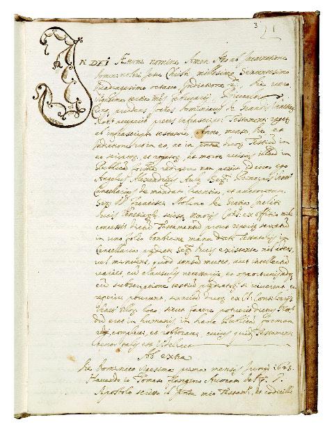 Εικ. 7. Διαθήκη του Θωμά Φλαγγίνη, 11 Σεπτεμβρίου 1644 (δημοσιεύθηκε 28 Φεβρουαρίου 1648) (φωτ.: Ελληνικό Ινστιτούτο Βυζαντινών και Μεταβυζαντινών Σπουδών Βενετίας).
